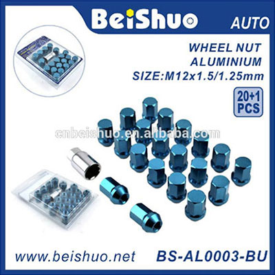Factory Good Price Chromed Truck Car Wheel Nuts Covers