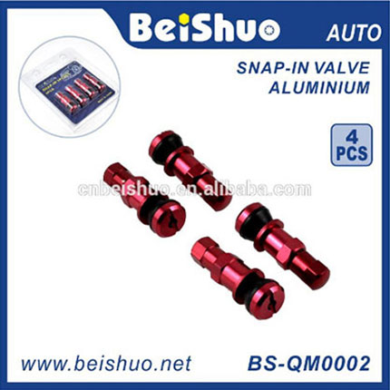 Auto Parts Aluminum Snap-In Tire Valve With Different Package