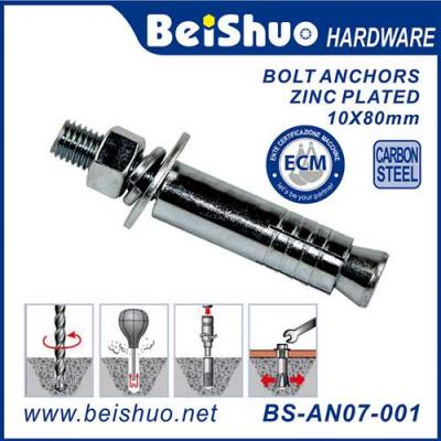 BS-AN07-001 Made in China Plastic Wall Plug Expansion Anchor