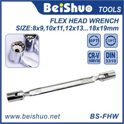 Carbon Steel Flex Head Wrench