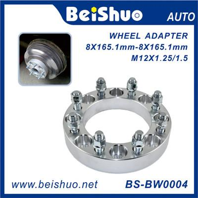 M12x1.25/1.5 Forged and Silver Aluminum Wheel Spacer