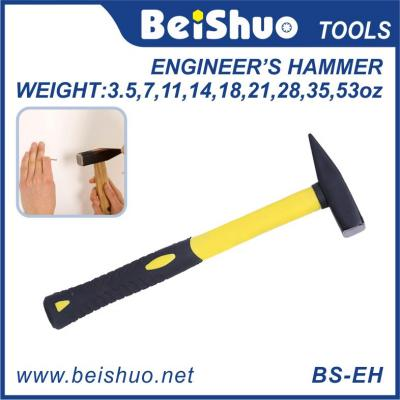 Engineers hammer with fiber handle