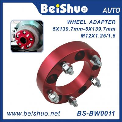 BS-BW0011 5X139.7mm Car Wheel Spacer Wheel Adaptor With Aluminum Alloy