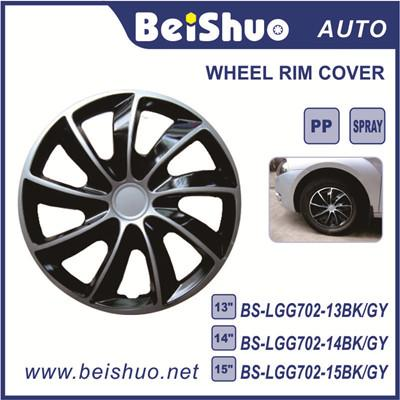 BS-LGG702 Bi-color Auto Accessories Factory Wholesale ABS Material Car Wheel Cover
