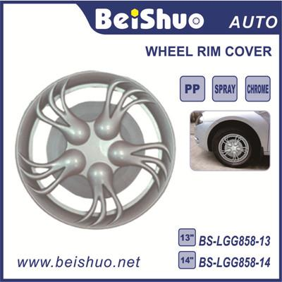 BS-LGG858 Black 14 inch Car Plastic Wheel Hubcaps Wheel Cover