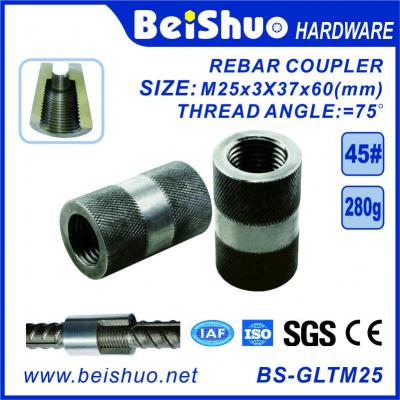 High Strength Steel Sleeves Reinforcing Rebar Couplers