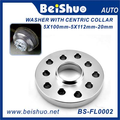 10mm Thick Wheel Spacer with Aluminum Alloy Wheel Hub Adaptors