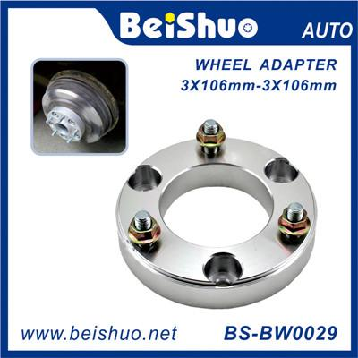 CNC Forged Aluminum Alloy Wheel Adapter 3 Holes PCD 3x106