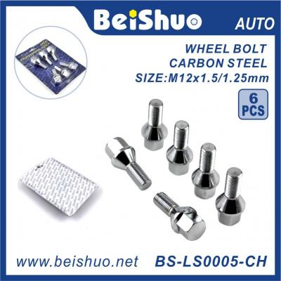 BS-LS0005-CH 12*1.5 Wheel Bolt Hex Bolt for Car