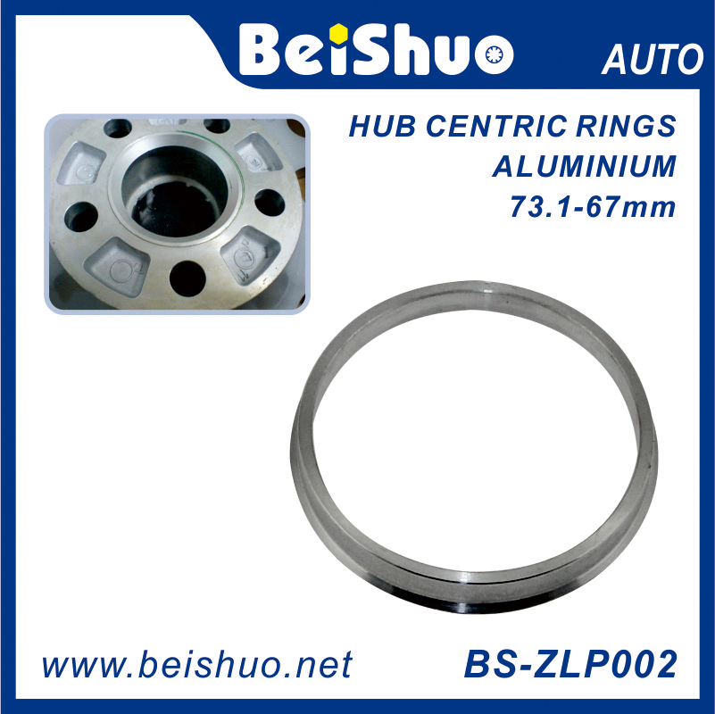 BS-ZLP002 73.10- 67mm Alloy Wheel Hub Centric Rings