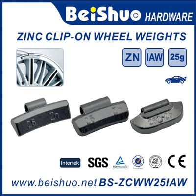 Steel Fe Clip on Wheel Weight Alloy Rim Wheel Weight