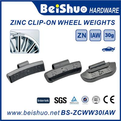 Zinc Clip on Wheel Weight Truck Tyre Weight