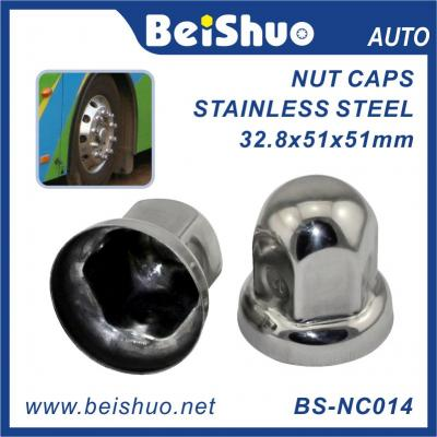 BS-NC014 Stainless Steel Wheel Lug Nut Cover for Truck