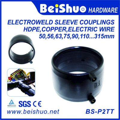 BS-P2TT HDPE 45 degree butt welding elbow hdpe pipe 45 degree elbow fittings