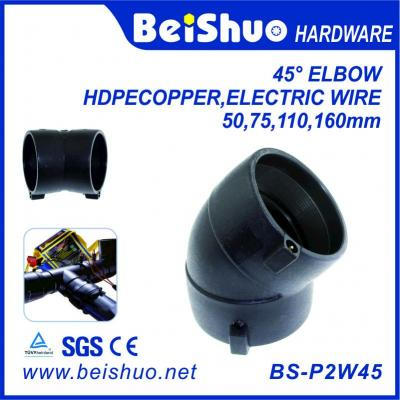 BS-P2W45 All Forms of Recyclable HDPE Pipe fittings