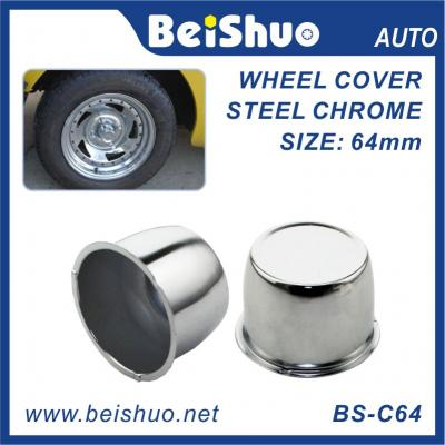 64mm USA sliver chrome Car & Truck Round Wheel Center Caps/CAR WHEEL CENTER CAPS COVERS
