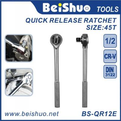 BS-QR12E 1/2 1/4 3/8  Drive Quick Release Ratchet Handle Torque Wrench