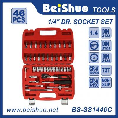 46pcs-1/4''Dr.Socket Wrench Set