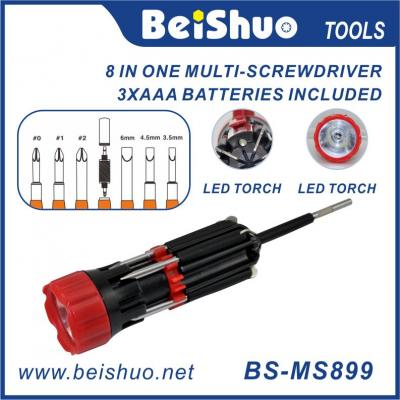 BS-MS899 8 IN 1 Multi Function Screwdriver