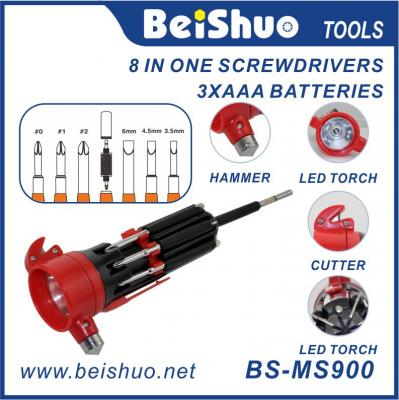 BS-MS900 8 IN 1 Multi Function Screwdriver