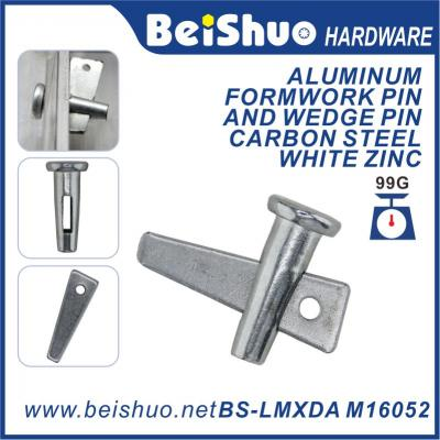 BS-LMXP25 M16 52mm 90mm 130mm Carbon Steel  Wedge Pin woth Locking Piece