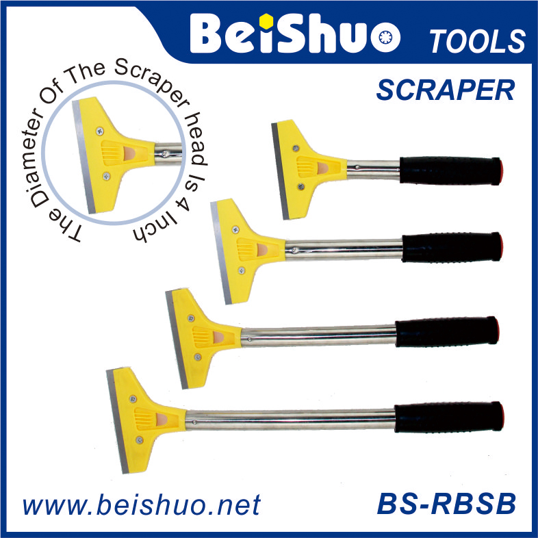 BS-RBSB Heavy Duty Handheld Wallpaper Paint Tiles Flooring Scraper With Blade