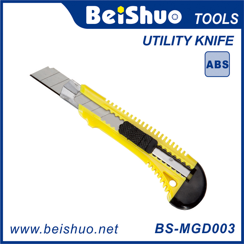 BS-MGD003 18MM Utility Knife With One Blade Easy Cut Hand Tool