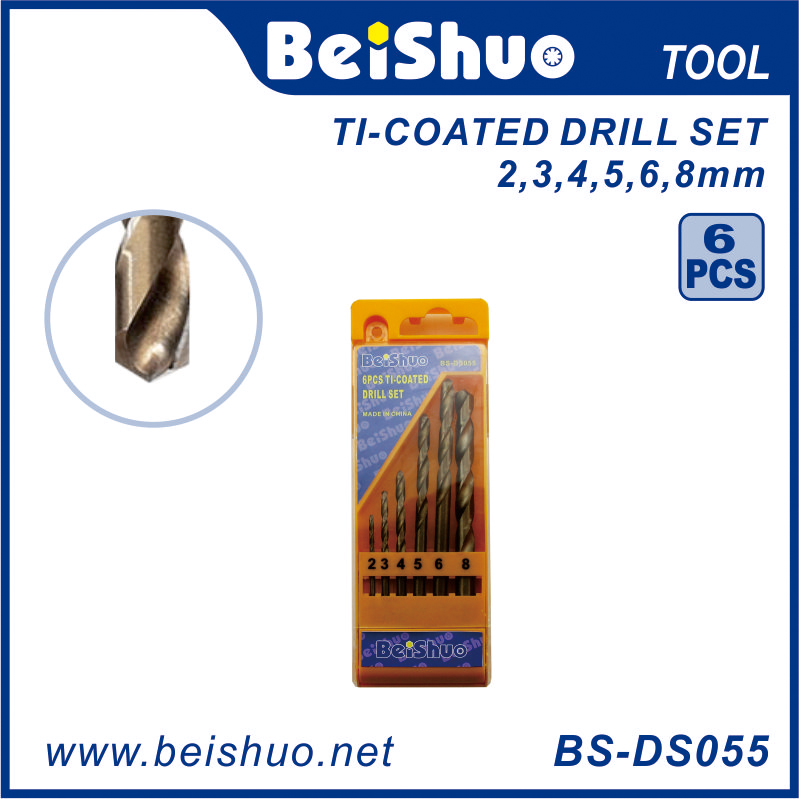 BS-DS055 6 PCS Twist Drill Bit Set