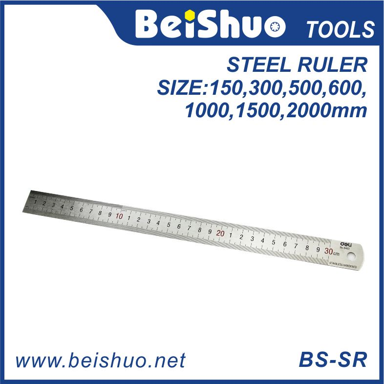 15cm-200cm Straight Stainless Steel Ruler
