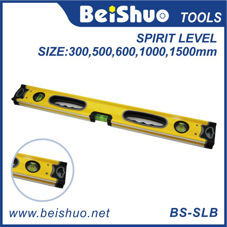 Professional Measurement Tools 3 Bubbles Spirit Level