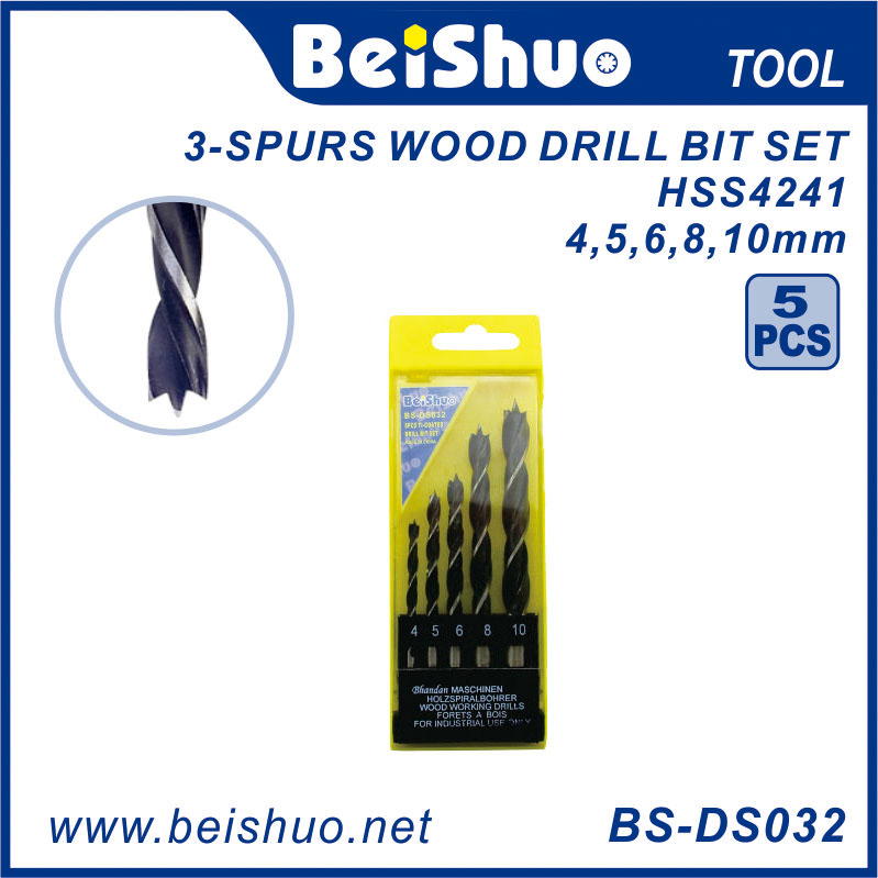 BS-DS031 High Quality DIN8039 Masonry Drill Bits for Granite Tungsten Carbide Drill Bits