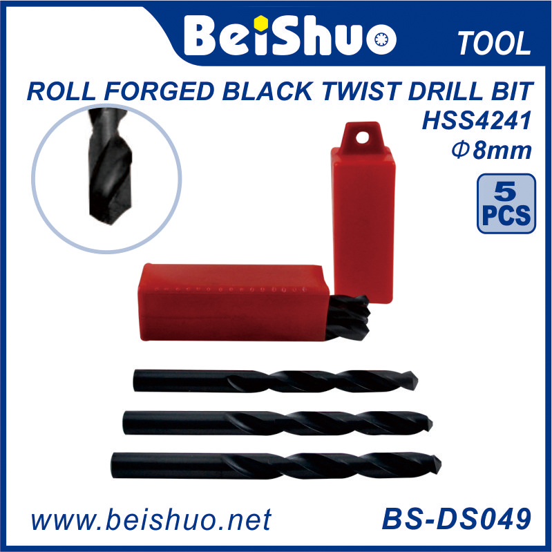 BS-DS029 HSS Straight Shank Titanize Masonry Drill Bits Set