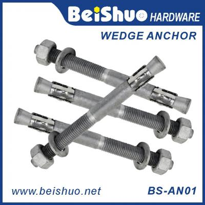 BS-AN01 M8 carbon stainless steel wedge anchor