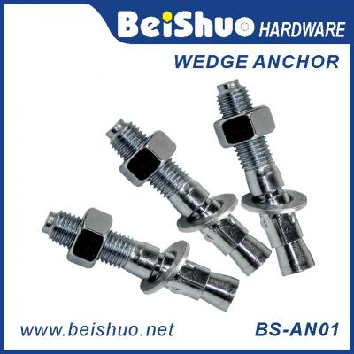 BS-AN01-D M12 Stainless steel Zinc plated provides strong  wedge anchor