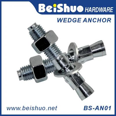 BS-AN01-D M16 Carbon steel Zinc plated provides strong  wedge anchor