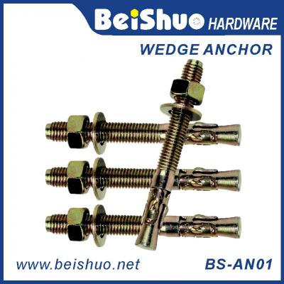 BS-AN01-F M8 Carbon steel Zinc plated provides strong  wedge anchor