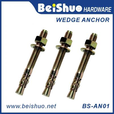 BS-AN01-F M14 Carbon steel Zinc plated provides strong  wedge anchor