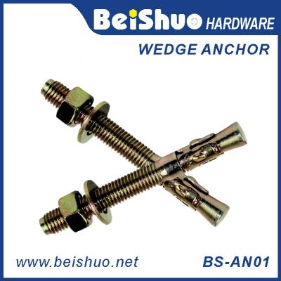 BS-AN01-F M16 Carbon steel Zinc plated provides strong  wedge anchor