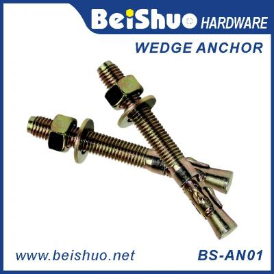 BS-AN01-F M20 Stainless steel Zinc plated provides strong  wedge anchor