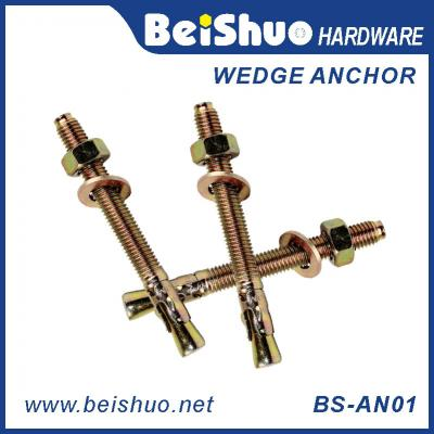 BS-AN01-G M14 Customsize Carbon steel Bearing wedge anchor