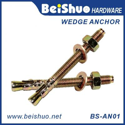 BS-AN01-G M20 Carbon steel Bearing Wedge anchor