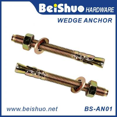 BS-AN01-G M24 Stainless steel Z/P,HDG plain wedage anchor