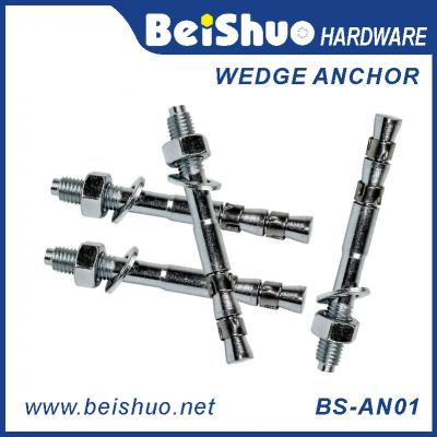 BS-AN01 H M6 Carbon steel plain provides strong wedge anchor