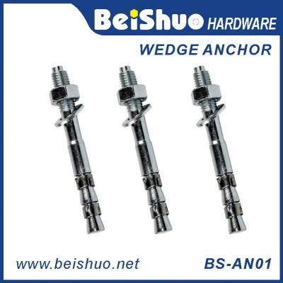 BS-AN01 H M12 Carbon steel plain provides strong wedge anchor