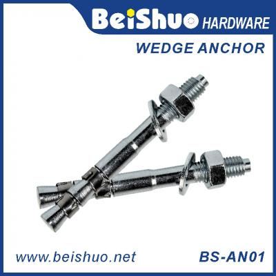 BS-AN01 Stainless steel plain provides strong wedge anchor BS-AN01-H M20