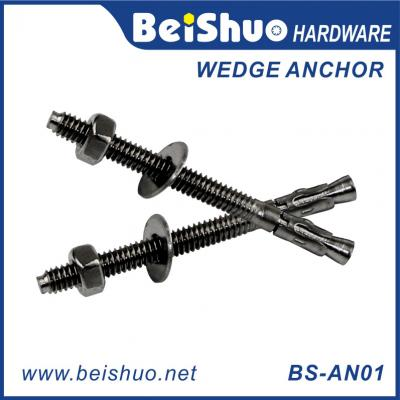 BS-AN01-J M12 Carbon steel Z/P,HDG,Plain wedge anchor