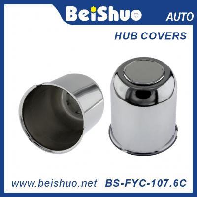107.6 mm Universal Chrome Push Through Truck Wheel Center Cap