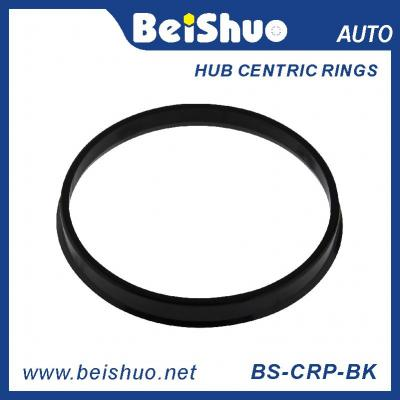 BS-CRP-BK New designed Colored Plastic Boring Wheel Fuel Hub Centric Ring