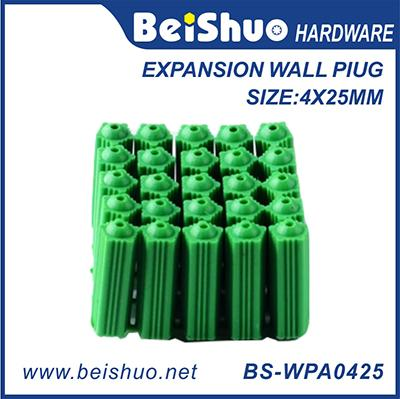 Plastic Anchor 4*25mm PE/PA Expansion Wall Plugs