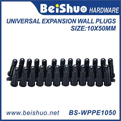 BS-WPPE1050 10*50mm PE/PA Universal Expansion Wall Plugs
